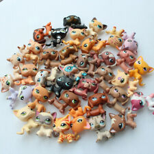 5pcs LPS toys dachshund dog+short hair cat Pet Shop lot birthday gift