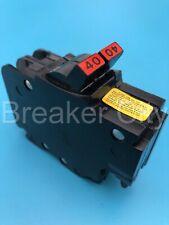 Federal Pacific 40 Amp 2 Pole Circuit Breaker Fpe Type Nc Stab Lok Thin Nc240