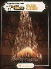 Sacred Sounds Sheet Music E-Z Play Today Book NEW 000100570