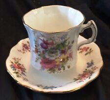 Beautiful Vintage Hammersley Fine China Signed F Howard Spray Tea Cup and Saucer