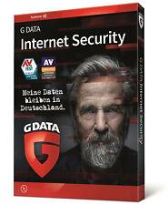G Data Internet Security 2021 | 1 PC 1 Jahr | Vollversion GDATA DE ESD 2 min.