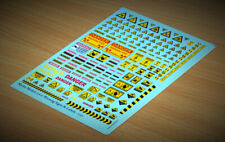 Matho Models 35101 Warning Signs & Labels - 1:35 scale