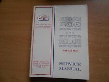 Service Repair Shop manual Cessna Skywagon 206 serie & Super Skylane 1969-1970