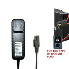 "CHARGER AC adapter ""for"" DISNEY QUAD ATV 6V batt RIDE ON Walmart Target Toy R US"
