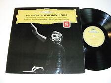 Beethoven Symphonie Nr. 8 - Berliner - von Karajan - LP DGG 139015