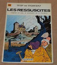 Tif et Tondu -20- / Les ressuscites / 1978 / TBE-