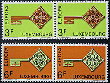 LUXEMBOURG timbres/Stamps Yvert et Tellier n°724 et 725 (x2) n** (a) (cyn10)