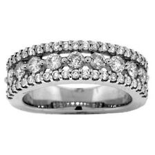 1.20ct ANNIVERSARY ROUND DIAMOND RING 18k WHITE GOLD