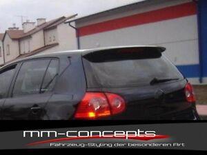 VW Golf V 5 GTI Dachspoiler Spoiler Heckflügel Ansatz Dach R32 GT TDI