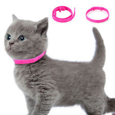 Adjustable Pet Dog Collar Neck Ring Flea Tick Mite Louse Remedy Protection Pink