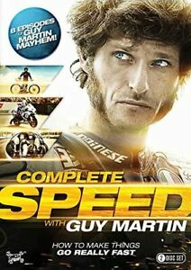Guy Martin: Complete Speed [Region 2] - DVD - New - Free Shipping.