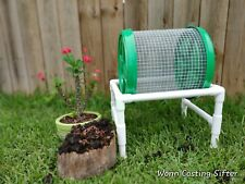 Compact Composting Worm Casting Sifter