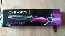 Remington Womens Flexibrush Steam Hot Air Ceramic Hair Styler Styling Brush 035