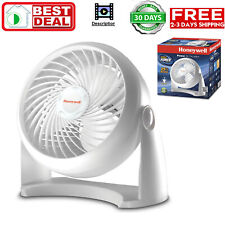 Honeywell Tabletop Air-Circulator Fan HT-904 White 11 inch NEW