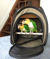 Bird Carrier Budgie Parrot Travel Portable Foldable Pet Cage Cockatiel
