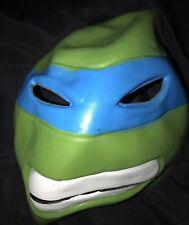 boys one size fits most Teenage Mutant Ninja Turtle Halloween Mask Blue clean @