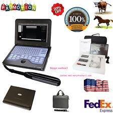 USA Seller Veterinary Laptop Ultrasound Scanner VET Machine 7.5mhz Rectal probe