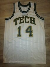 Arkansas Tech Bulldogs #14 Basketball Team Game Worn Used Jersey XL