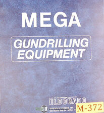 Mega Gun Drilling Head, Eldorado, Operations Maintenance and Parts Manual 1985