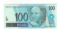 100 Reais Brasilien UNC 2007 C330 / P.247f - Brazil Banknote