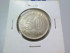 Malaysia 50 Sen coin (1987) - UNC/BU