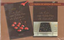 COFFRET 100 RECETTES de TABLETTES DE CHOCOLAT avec un moule Anne Debbois