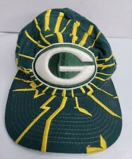 Vintage Green Bay Packers NFL Starter Pro Line Hat Snapback Cap Embroidered Wool