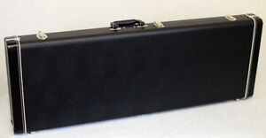 Fender Guitar Case G&G Jaguar / Jazzmaster Black