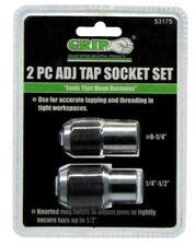 Adjustable Tap Holder Socket  2 Piece Set