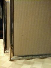 Home Decor Picture Frame set Matching 8x10 brass w/gold tone