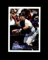 Joe Girardi Hand Signed 1996 Topps Colorado Rockies Autograph