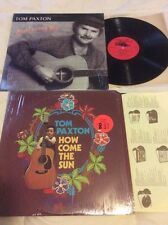 Tom Paxton Lot Of 2 Vinyl LP How Come The Sun 1971 And Loving You 1986 Not CD