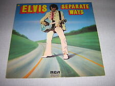 ELVIS PRESLEY 33 TOURS GERMANY SEPARATE WAYS