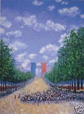 Scoppettone TOUR DE FRANCE Impressionist Limited Edition (150) Serigraph Print
