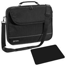 """NOTEBOOK Laptop TASCHE 15"""" Zoll 15,6 Notebooktasche Schutz Case Hülle + Mauspad"""