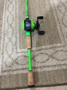 Quantum Accurist Pt baitcaster 13 Fishing Fate Rod perfect combo mint conditio