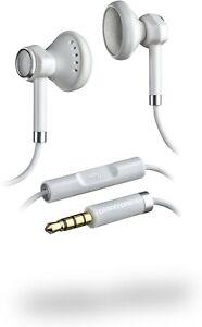 PLANTRONICS BACKBEAT 116 STEREO HEADPHONE WHITE FOR IPHONE SMARTPHONE MP3 iPod