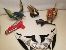 Power Rangers Dino Thunder Megazord Parts, WILDFORCE DELUXE JAGUAR & CONDOR