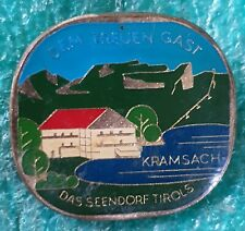 KRAMSACH  AUSTRIAN CLIMBING MOUNTING OLD PIN BADGE