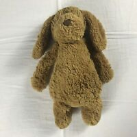 "JellyCat Plush Dog 12"" Beans Stuffed Toy Puppy Tan Beige Cuddly Kids Baby Love"