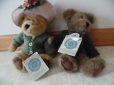 Boyds Bears Friends Collection Mr & Mrs Trumbull Collectible Teddy Bear Dressed