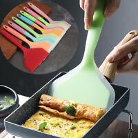 Kitchen Silicone Non-stick Cooking Utensils Shovel Pizza Spatula Scraper Tools