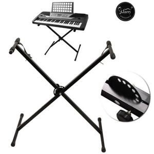 New Keyboard Stand Single X Type Adjustable Electronic Piano Metal Rack Portable