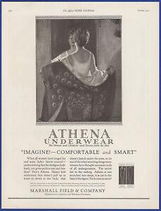 Vintage 1922 ATHENA Underwear Women Children Men Fashion Ephemera Print Ad