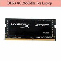 Pour Kingston HyperX Impact 8 Go 16 Go 32 Go DDR4 2666 MHz PC4-21300 Laptop RAM