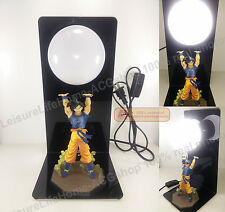 Dragon Ball Z Son Goku GenkiDama Spirit Bomb Figure Led light Lamp creative gift