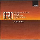 Davide Teodoro, Carlo Lazari-Berio - Sequenzas; Due Pezzi; Musica Leggera CD  Co