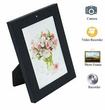 Hidden Spy Camera HD Hidden Cam Photo Frame Record Video Motion Detection