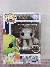 Funko Pop #33 -World of Warcraft - Murloc (White) Gamestop NOT MINT BOX B031