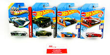 Hot Wheels: Best for Tracks: Cul8R, '05 Mustang, Force & Speeder - Qty 4 | NEW